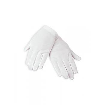 Fun Express Child Size White Polyester Gloves (1 Pair)