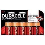 Duracell QU1300B5TBCD Quantum Alkaline D Batteries (Pack of 5)