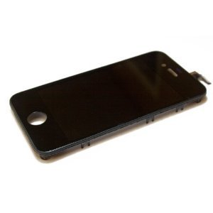 Replacement Digitizer and Touch Screen LCD Assembly for Black Apple iPhone 4