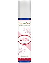 Love Potion Synergy Essential Oil Blend Roll On 10 ml Pre-diluted with Fractionated Coconut Oil 100% Pure Therapeutic Grade.
