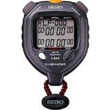 Ultrak Seiko 100 Lap Memory Timer with LED (Memory Led Flashlight)