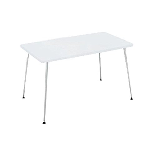 コクヨ(KOKUYO) ミーティングテーブル 長方形 EAT IN(イートイン) W1200×D800×H700mm LT-340 ホワイト B07652X7JXホワイト