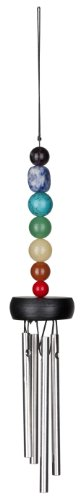 Woodstock Small Chakra Chime, Seven Stones- Eastern Energies (Small Wind Chimes)
