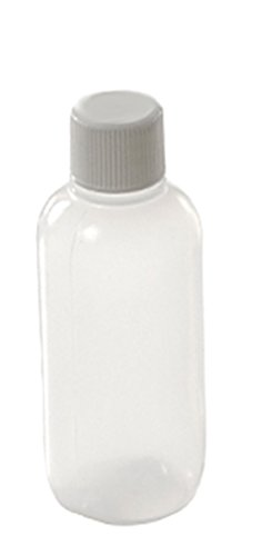 - 1 oz (30cc) LDPE Natural Boston Round Bottles with Lined Caps - Set of 6