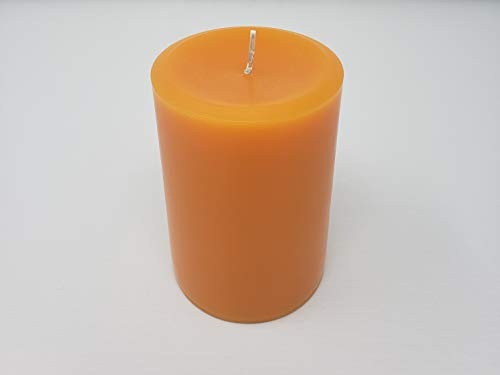 Pumpkin Pie Pillar Candle - Pumpkin Pillar