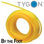 RBI Tygon Fuel line (Clear Yellow) .117'' ID X .211'' OD - by The Foot by RBI (Image #1)
