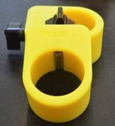 Proloc 1 - Standard Olympic Barbell Collars (Yellow)