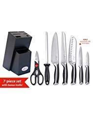 Compra Culina Juego de cuchillos forjados de acero alemán de ...