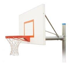 最初チームRenegade Endura steel-aluminum in ground固定高さバスケットボールsystem44 ;コロンビアブルー B01HC0EQTQ