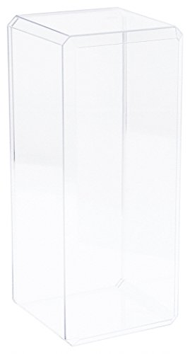 Clear Acrylic Beveled Edge Display Case for 12 Doll or Figure by Pioneer Plastics