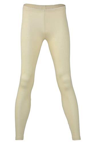 - EcoAble Apparel Women's Thermal Leggings Pants Base Layer, Organic Merino Wool Silk Blend (42-44 / Medium, Off White)