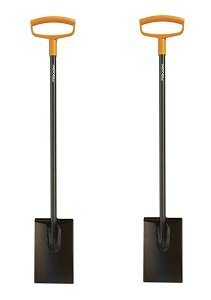 Fiskars 46 Inch Steel D-handle Square Garden Spade (2-(Pack))