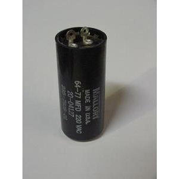 Lot-2 TEMCo 53-64 uf//MFD 220-250 VAC volts Round Start Capacitor 50//60 Hz