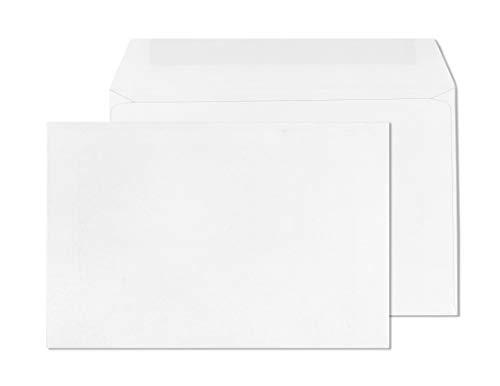 6 x 9 Envelopes Booklet-Open Side Envelopes-50 Pack 6x9 (White)