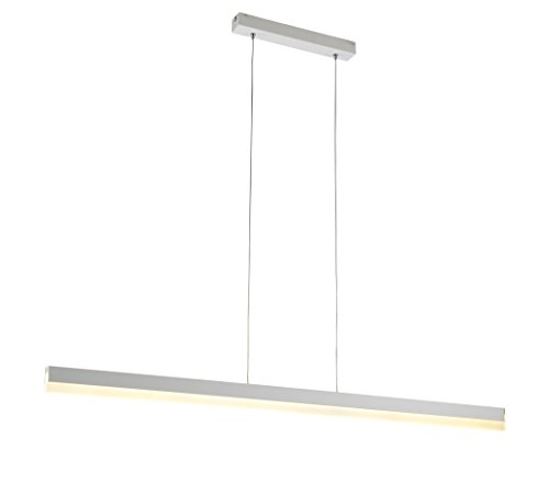 Modern.Place Modern LED Linear Pendant Light Fixture Home Office Bright Contemporary Hanging Chandelier (Neutral...