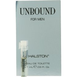 HALSTON UNBOUND by Halston EDT VIAL ON CARD MINI for MEN (Halston Mini Edt Men)