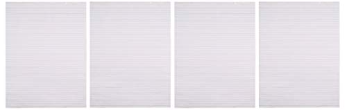 School Smart Chart Paper Pad, 24 x 32 Inches, Ruled 1-1/2 Inch, White, 70 Sheets (Fоur Paсk) by School Smart (Image #1)