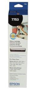 Epson 7753 Black Ribbon - Epson Ribbon, 7753, Black, 200,000 pg yield [Non - Retail Packaged]