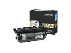 (LEXMARK INT'L, INC., X644H01A Extra High-Yield Toner, 32000 Page-Yield, Black)