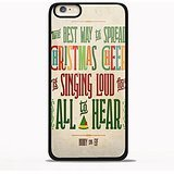 Buddy the Elf, The Best Way to Spread Christmas Cheer for iPhone 6/6s Black case (Best Qoutes Christmas)