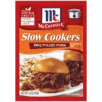 McCormickSlow Cookers BBQ Pulled Pork Seasoning Mix (Make Your Family and Friends Drool Over the Aromas and Tastes of the Best Pulled Pork Recipe Around, No MSG, Cholesterol-Free Food), 1.6 oz (Best Pork Rub For Pulled Pork)