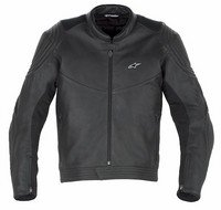 Jackets Alpine Leather (ALPINESTARS JACKET INTERCEPTOR BLK-62 310-127-10-62)
