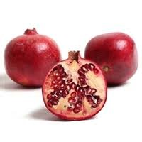 Fresh Pomegranate Fruits (4 pieces) by GreatPlentifulShopUSA
