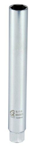 Sunex 884505 3/8-Inch Drive 9/16-Inch Extra Deep Spark Plug Socket, CR-MO by Sunex Tools (Image #1)