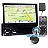"""pkg Soundstream VRN-75HB In-Dash 1-DIN 7"""" DVD Receiver with Bluetooth, GPS Navigation and Android PhoneLink with XO Vision HT"""