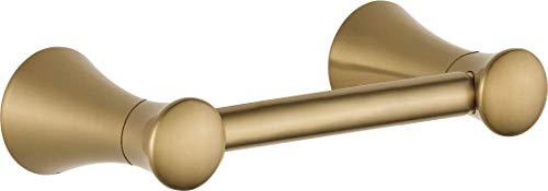 DELTA Lahara Pivoting Toilet Paper Holder, Champagne Bronze, Bathroom Accessories, 73850-CZ