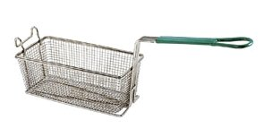 NEW 11'' COMMERCIAL RESTAURANT RECTANGLE FRY DEEP FRYER BASKET w/PLASTIC HANDLE by Onesource