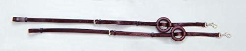 Leather Side Reins - Performers 1st Choice German Style Leather Side Reins - Brown