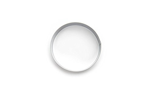 Fox Run 4685 English Muffin Rings, Tin-Plated Steel, Set of 4