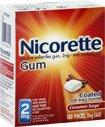 Nicorette 2 Mg cannelle couché Surge, 100 comptage (Pack de 1)
