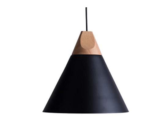 Bar de Salon Moderne et Minimaliste avec tête Simple, Lampe de Chevet avec Abat-Jour Noir