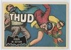 Robin in Action (Trading Card) 1989 Topps Batman Deluxe Reissue Edition - Black Bat (Action Reissue)