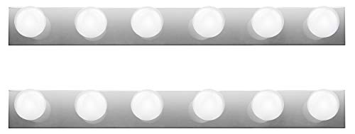 Hyperikon Vanity Lights, 36 Inch with 6 Sockets, E26 Base, Mirror Vanity -