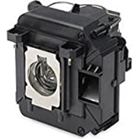 Replacement Lamp with Housing for EPSON PowerLite 1264 with Genuine Original Ushio Bulb Inside - FREE Shipping