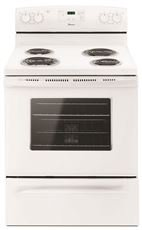 AMANA 30-INCH 4.8 CU. FT. SINGLE OVEN FREE-STANDING ELECTRIC RANGE, WITH STORAGE DRAWER, WHITE (Inch Amana 30 Range)