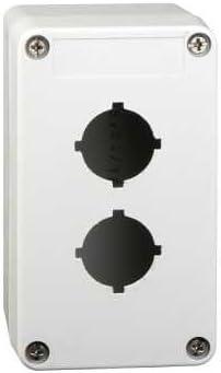 Schneider elec pic - mss 53 33 - Caja plastico vacia 2 taladros: Amazon.es: Bricolaje y herramientas
