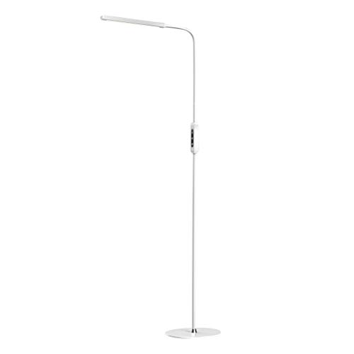 Jeeke Dimmable 10W Floor Lamp Eye - Caring LED Study Gooseneck Light Dimmable Modern Pole Floor Light for Living Room Offices Bedroom, Ship from USA