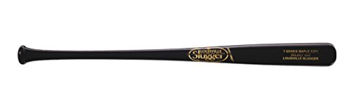 Louisville Slugger C271 Select S7 Maple Baseball Bat, Black/Gold, 33
