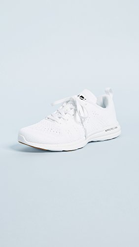 Apl: Athletic Propulsion Labs Dames Techloom Pro Sneakers Wit / Zwart / Gom