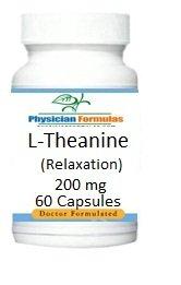 La L-théanine, 200 mg, 60 capsules de soutien, Détente & Sommeil, formulé par Ray sahélienne, MD