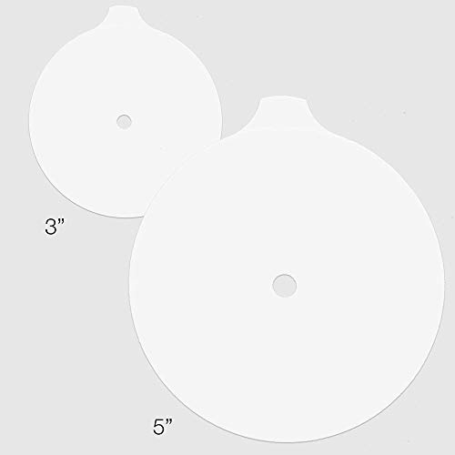3M Trizact Glass Restoration Discs (5in. Polishing) - 25 qty by 3M (Image #1)