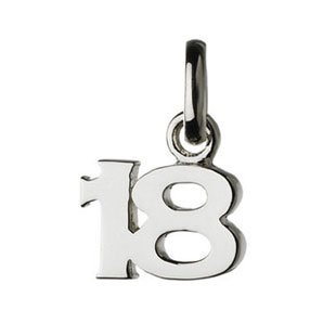 LINKS OF LONDON Sterling Silver 18th Birthday Sweetie Charm Jewellery Gift EICkJqrx9T