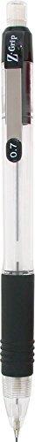 Zebra Z-Grip Mechanical Pencil 0.7mm 7 Pack, Black (52471) by Zebra Pen (Pen Rubber Grip Ribbed)