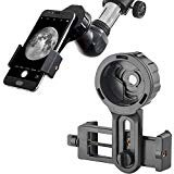 Landove Universal Cell Phone Smartphone Quick Photography Adapter Mount Connector for Telescope Binoculars Monocular Spotting Scope Microscope & and with Cell Mobile Phone from Landove
