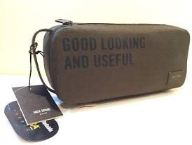 Jack Spade Olive Travel Kit Toiletry Bag