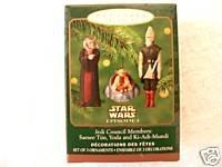 Jedi Council Members - Hallmark Keepsake Ornament - Jedi Council Members 2000 (QXI6744)